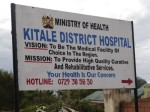 Kitale sign