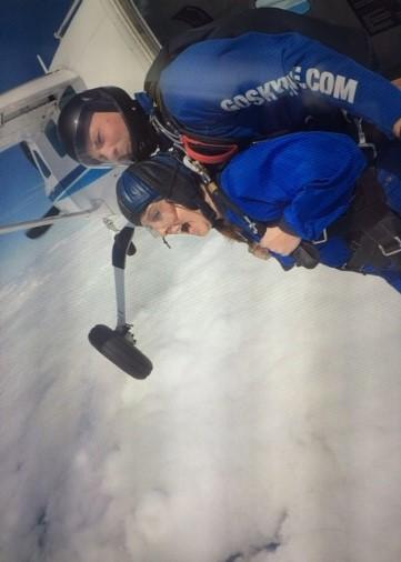 Sky dive 1